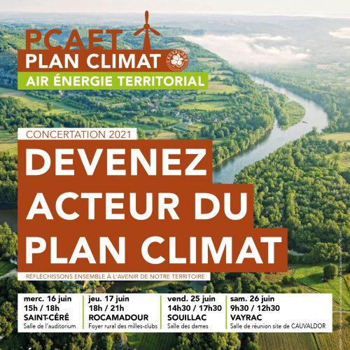 Devenez acteur du plan climat