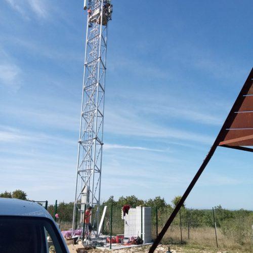L'antenne-rélais du Pech de la montagne
